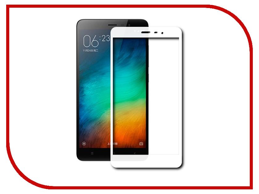 Аксессуар Защитное стекло Xiaomi Redmi 3/3S/3 Pro Svekla Full Screen White ZS-SVXIRED3-FSWH аксессуар защитное стекло zte blade l4 pro svekla 0 26mm zs svztl4pro