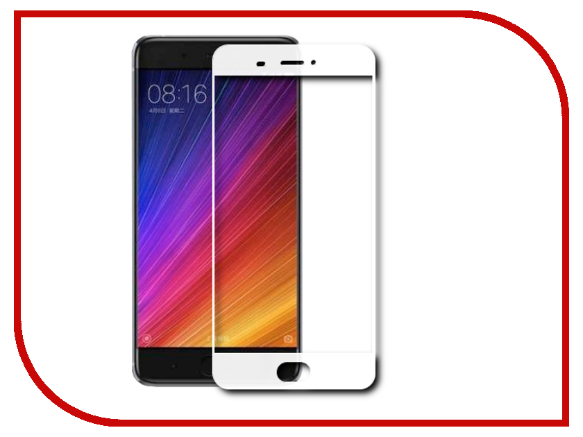Аксессуар Защитное стекло Xiaomi Mi5S Svekla Full Screen White ZS-SVXIMI5S-FSWH аксессуар защитное стекло huawei honor 6c svekla zs svhwh6c