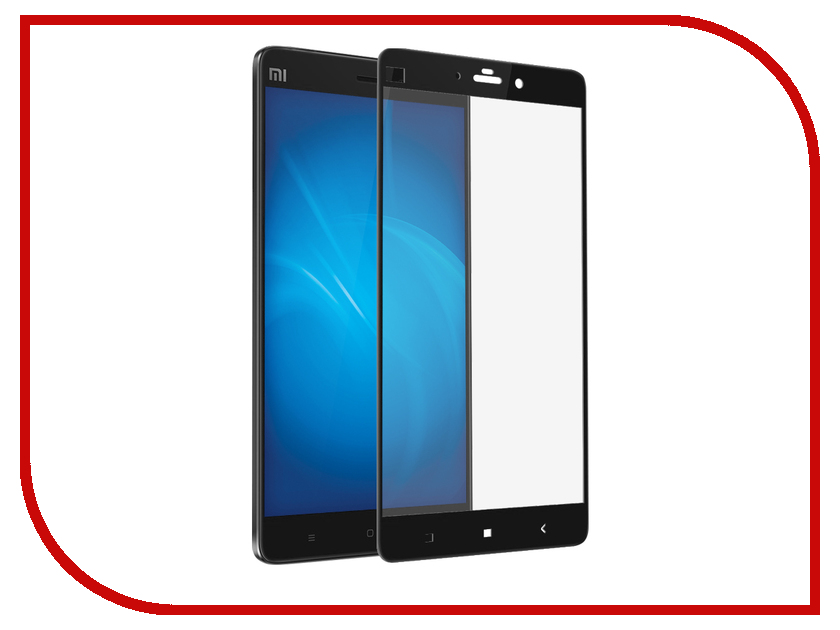 Аксессуар Закаленное стекло Xiaomi Mi Note DF Full Screen xiColor-13 Black mi note 2 black
