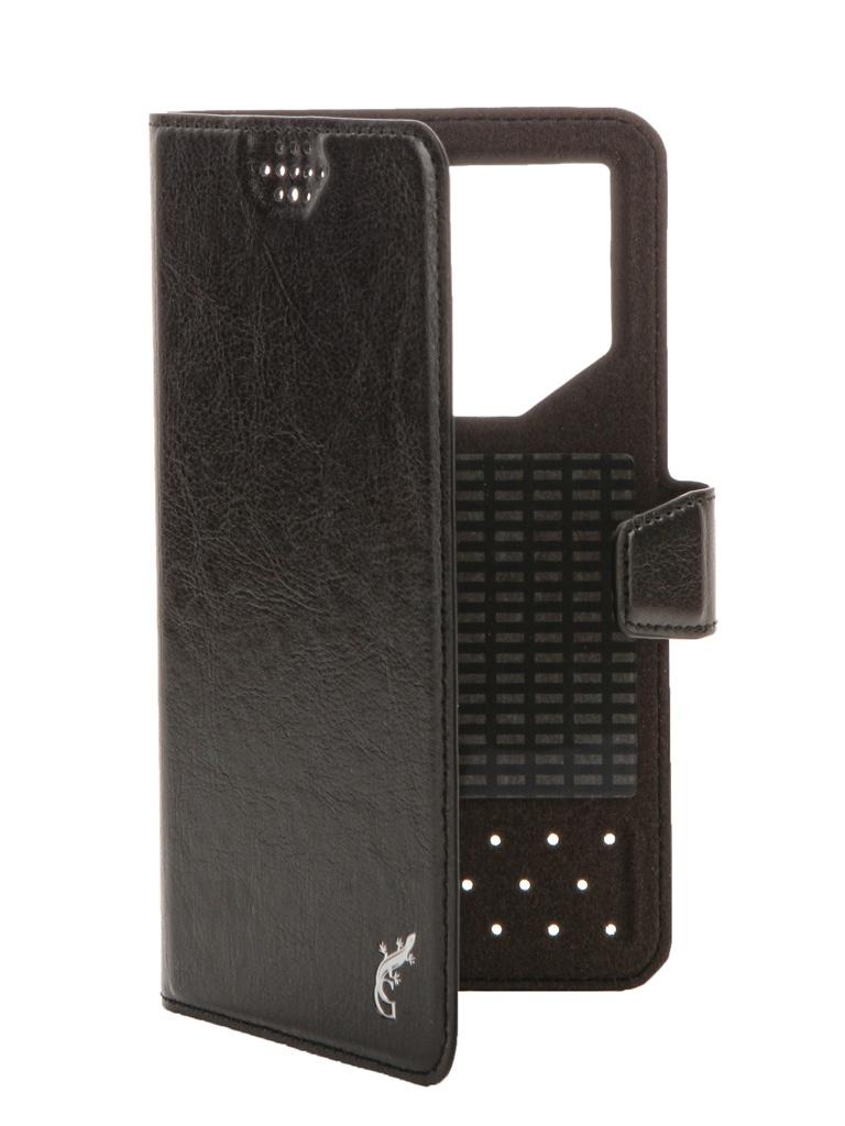 Чехол G-Case Slim Premium 5.0-5.5-inch универсальный Black GG-779