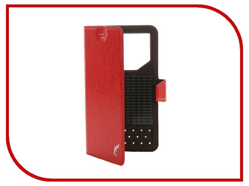 Аксессуар Чехол G-Case Slim Premium 5.0-5.5-inch универсальный Red GG-782