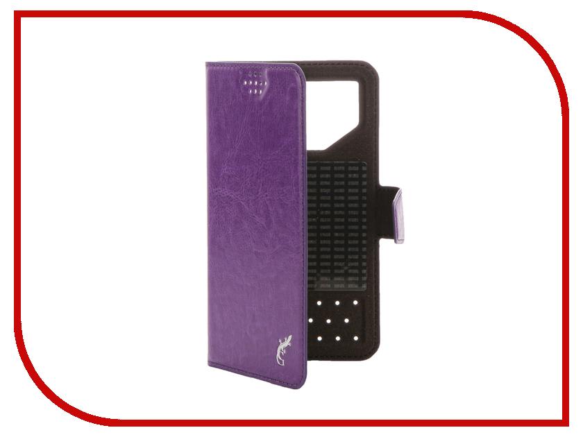 Аксессуар Чехол G-Case Slim Premium 4.2-5.0-inch универсальный Purple GG-778