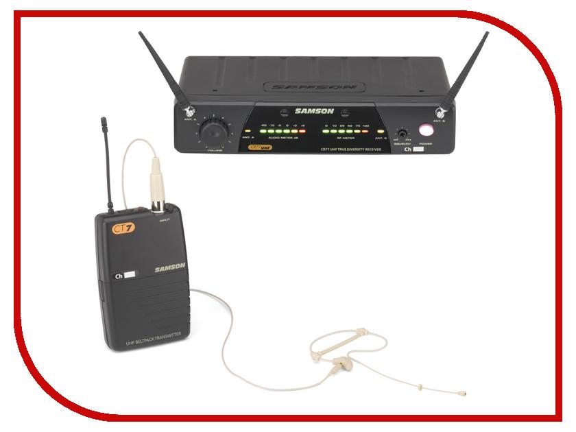 Радиосистема Samson Concert 77 SE10TX E4 микрофон samson go mic connect usb