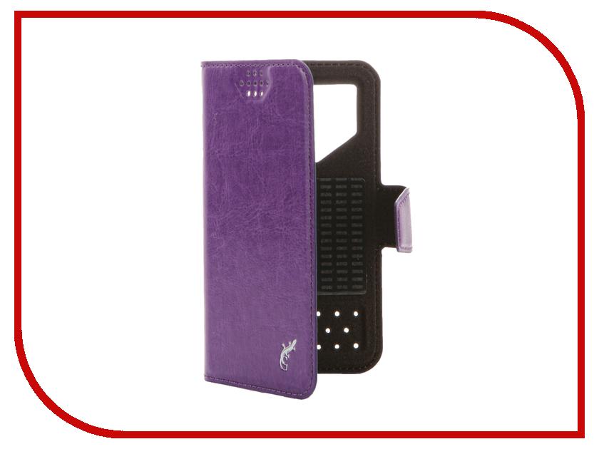 Аксессуар Чехол G-Case Slim Premium 3.5-4.2-inch универсальный Purple GG-767<br>