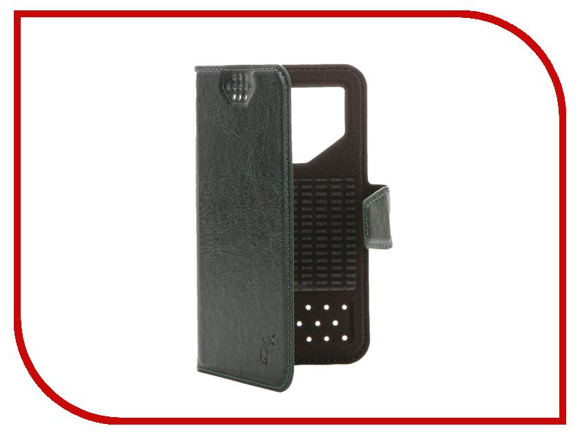 Аксессуар Чехол G-Case Slim Premium 3.5-4.2-inch универсальный Dark Green GG-765