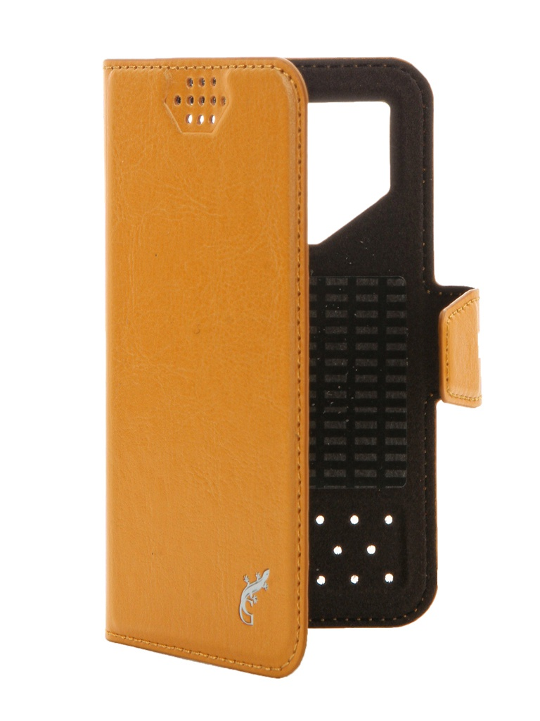Чехол G-Case Slim Premium 3.5-4.2-inch универсальный Orange GG-764