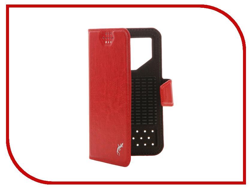 Аксессуар Чехол G-Case Slim Premium 3.5-4.2-inch универсальный Red GG-762