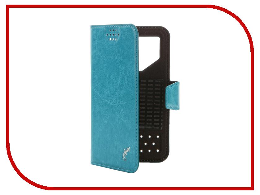 Аксессуар Чехол G-Case Slim Premium 3.5-4.2-inch универсальный Light Blue GG-763