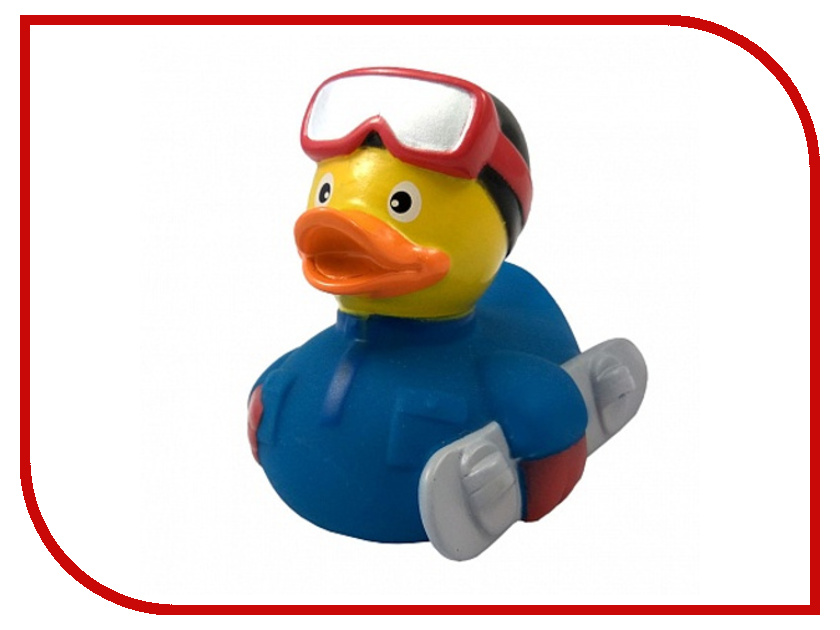 игрушка Веселые Ути-Пути Сноубордер уточка