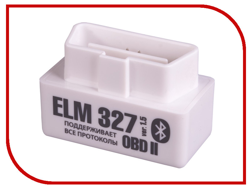 Автосканер Emitron ELM327 Bluetooth elm327 obdii v1 5 bluetooth auto car diagnostic scan tool white