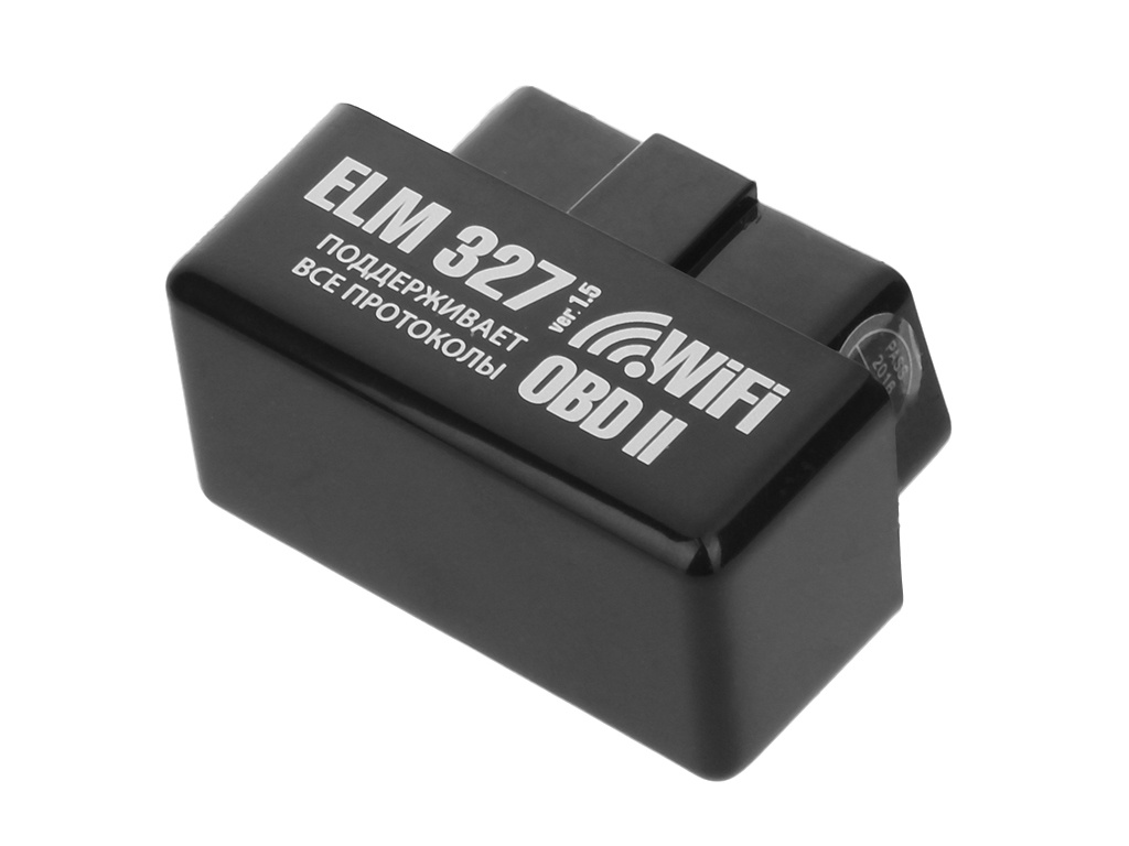 Автосканер Emitron ELM 327 Wi-Fi Black — ELM 327 Wi-Fi