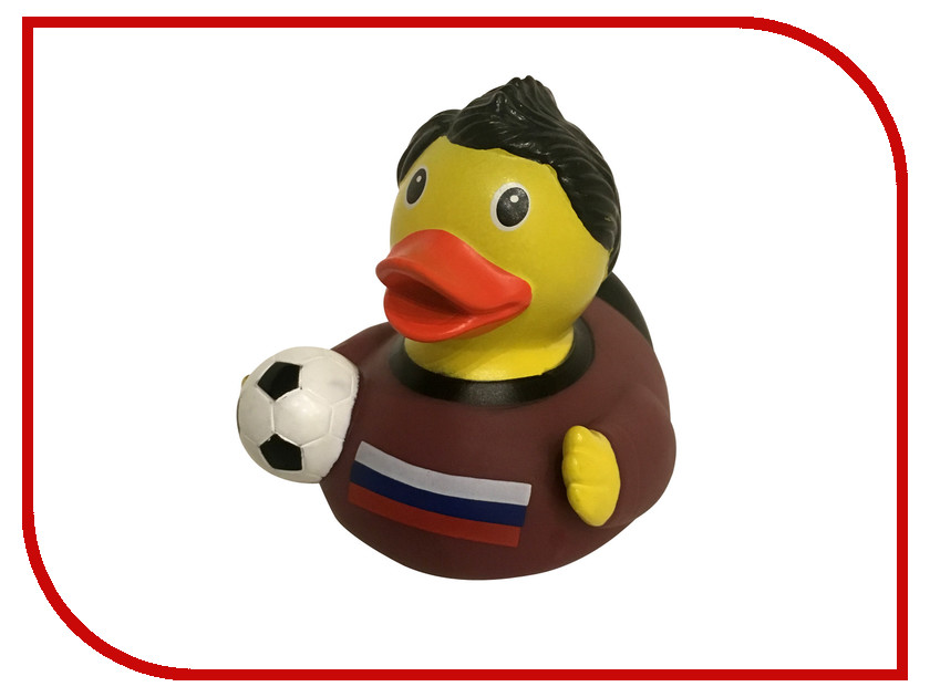 игрушка Веселые Ути-Пути Уточка Российский футболист игрушка веселые ути пути банни уточка