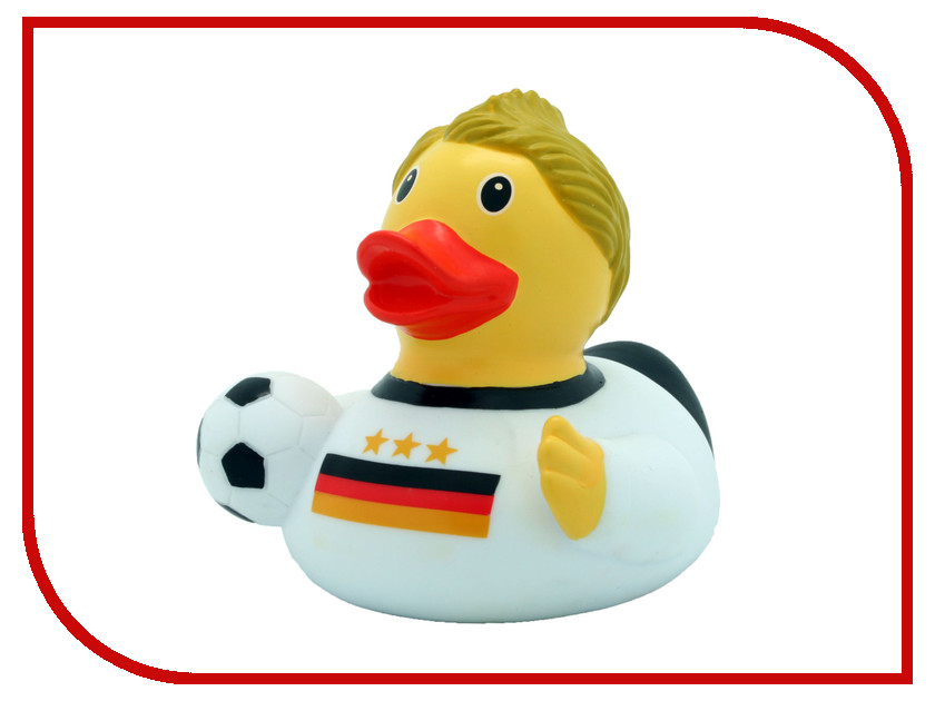игрушка Веселые Ути-Пути Уточка Немецкий футболист