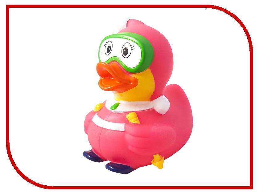 игрушка Веселые Ути-Пути Лыжница уточка Pink игрушка веселые ути пути банни уточка