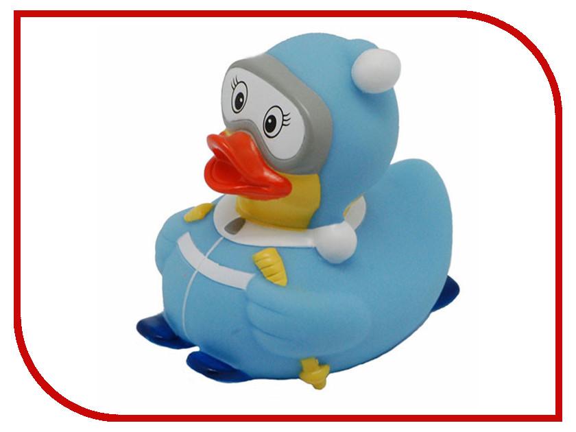 игрушка Веселые Ути-Пути Лыжница уточка Light Blue