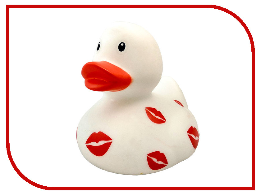 игрушка Веселые Ути-Пути Уточка с поцелуями White игрушка веселые ути пути красная шапочка уточка