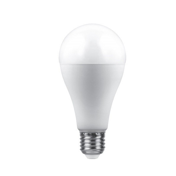 Лампочка Saffit A65 E27 25W 230V 2700K 2150Lm Warm Light SBA6525 55087