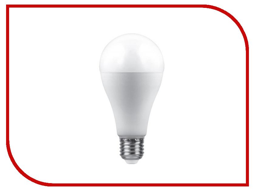 Лампочка Saffit E27 A65 25W 4000K 230V SBA6525 55088 лампочка saffit 40w 4000k 230v e27 e40 sbhp1040 55092