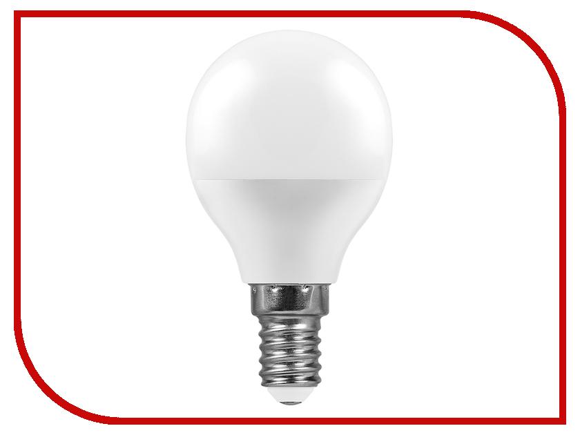 Лампочка Feron LB-550 E14 9W 230V 2700K G45 25801 лампочка feron lb 433 g9 7w 2700k 230v 25766