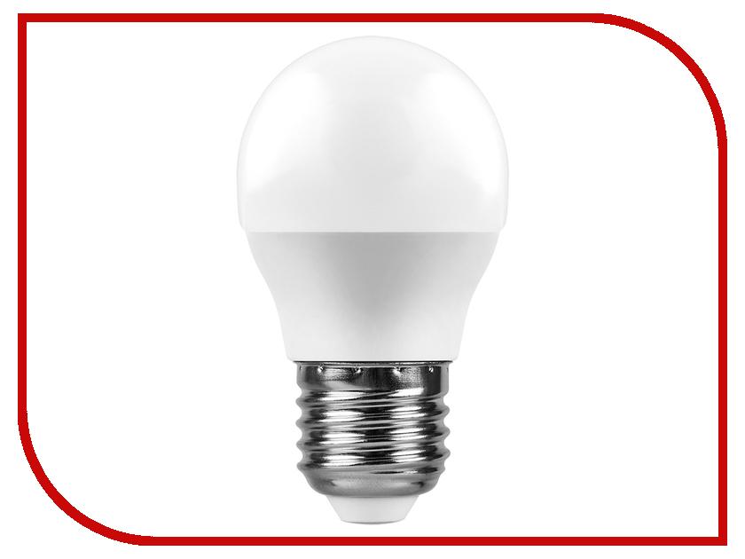 Лампочка Feron LB-550 9W 230V E27 6400K G45 25806 лампочка feron lb 61 4led e27 5w 2700k 230v 13418