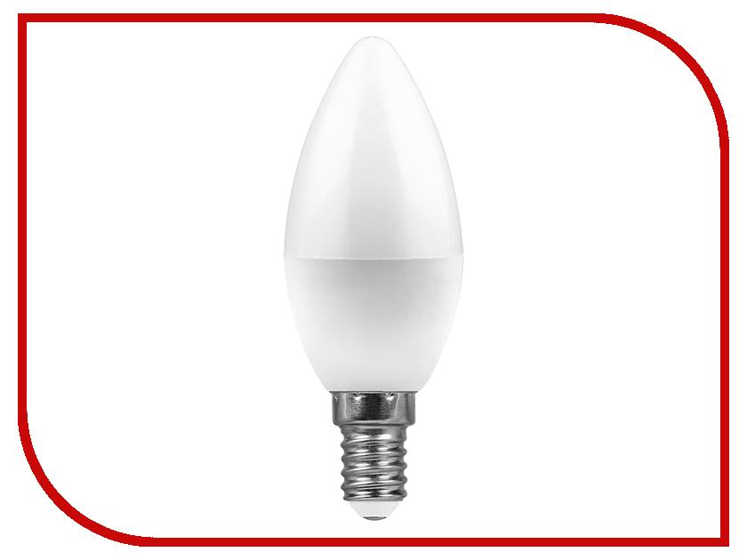 Лампочка Feron LB-570 9W 230V E14 4000K 25799 светодиодная лампа feron lb 69 5w 230v e14 2700k 25653