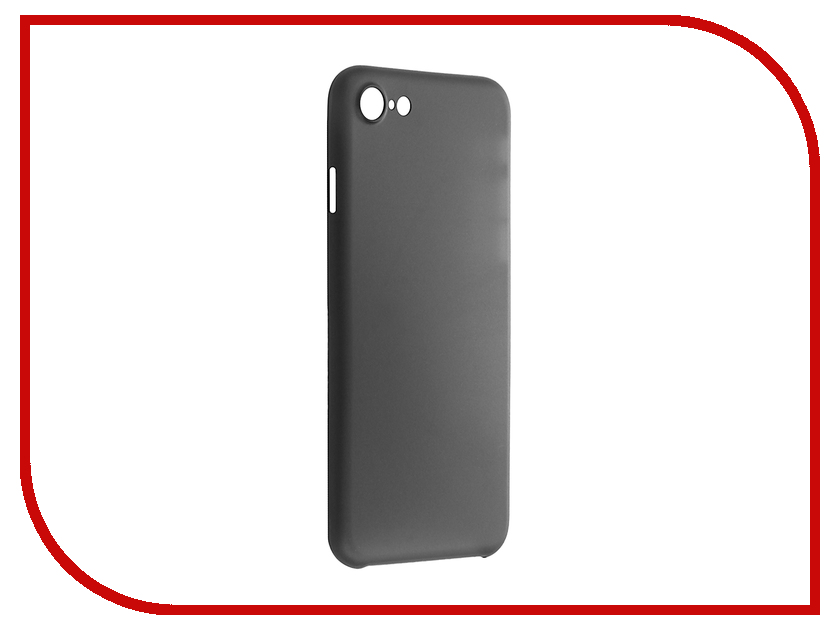 Аксессуар Чехол BoraSCO для iPhone 7 Black BRS-IPH7-BLPP<br>