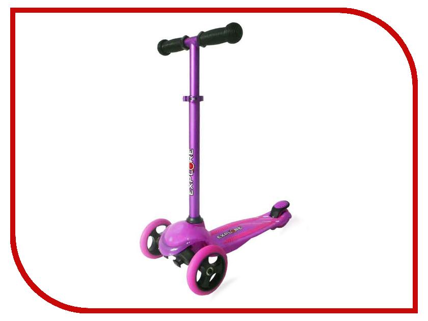 Самокат Explore Tris Purple самокат explore robo sport purple