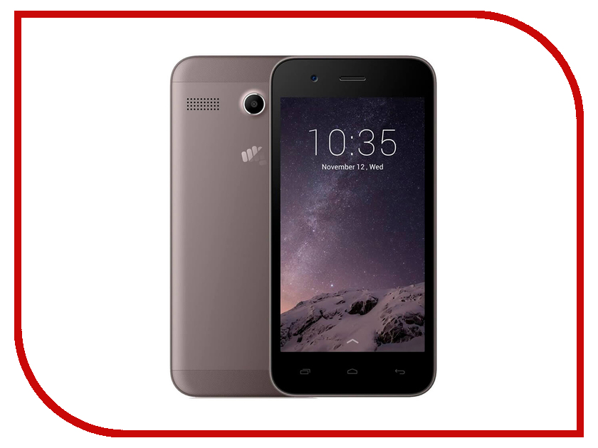Сотовый телефон Micromax Q346 Lite Coffee смартфон micromax q346 lite blue