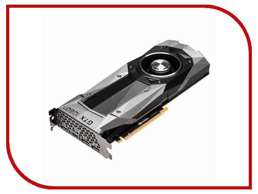 Видеокарта GigaByte GeForce GTX 1080 Ti 1480Mhz PCI-E 3.0 11264Mb 11010Mhz 352 bit DVI HDMI HDCP Founders Edition GV-N108TD5X-B видеокарта gigabyte geforce gtx 750ti 2g
