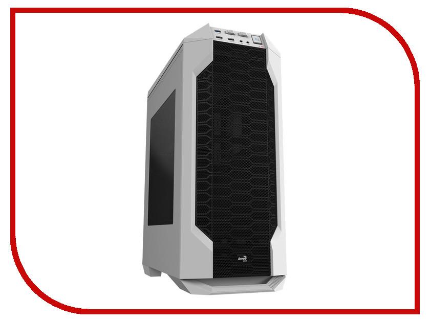 Корпус AeroCool LS-5200 White вентилятор aerocool shark fan white edition 120mm en55505