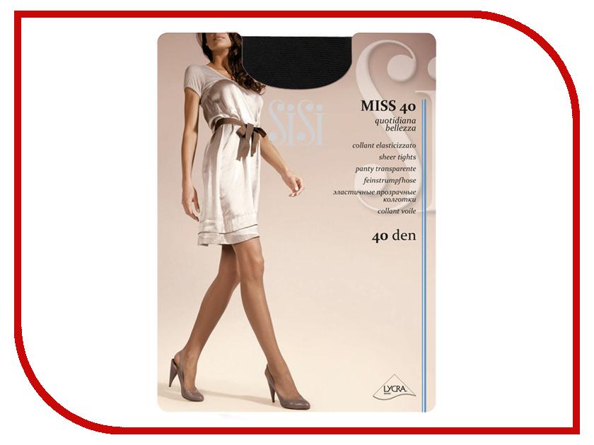 Колготки SiSi Miss размер 3 плотность 40 Den Nero гольфы sisi miss 40 new цвет nero черный 2 пары размер универсальный