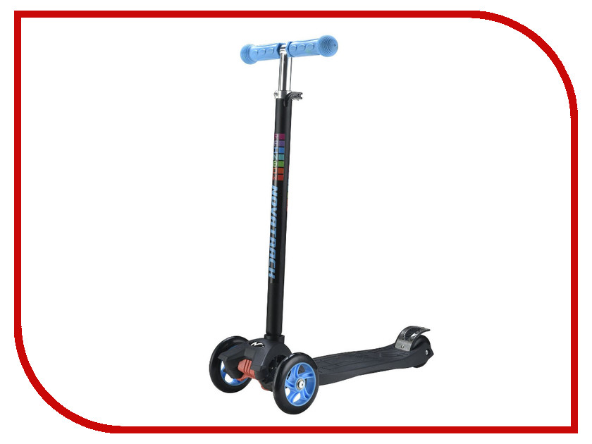 Самокат Novatrack RainBow 120 Light Blue 120rainbow.dbl7 самокат novatrack rainbow 120 blue 120b rainbow bl7