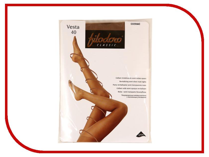 Колготки Filodoro Vesta размер 3 плотность 40 Den Cognac
