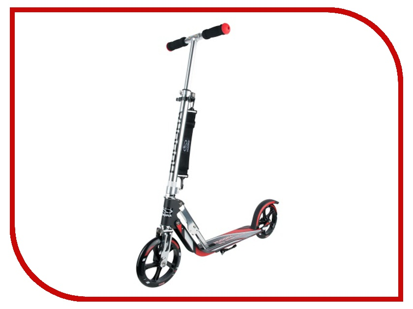 Самокат Hudora Big Wheel RX-Pro 205 New Red-Black ð¼ñ‹ñˆñŒ sven rx 345 wireless red