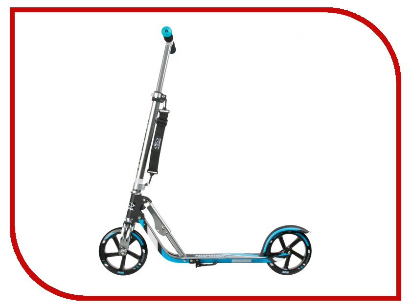 Самокат Hudora Big Wheel RX-Pro 205 New Black-Blue