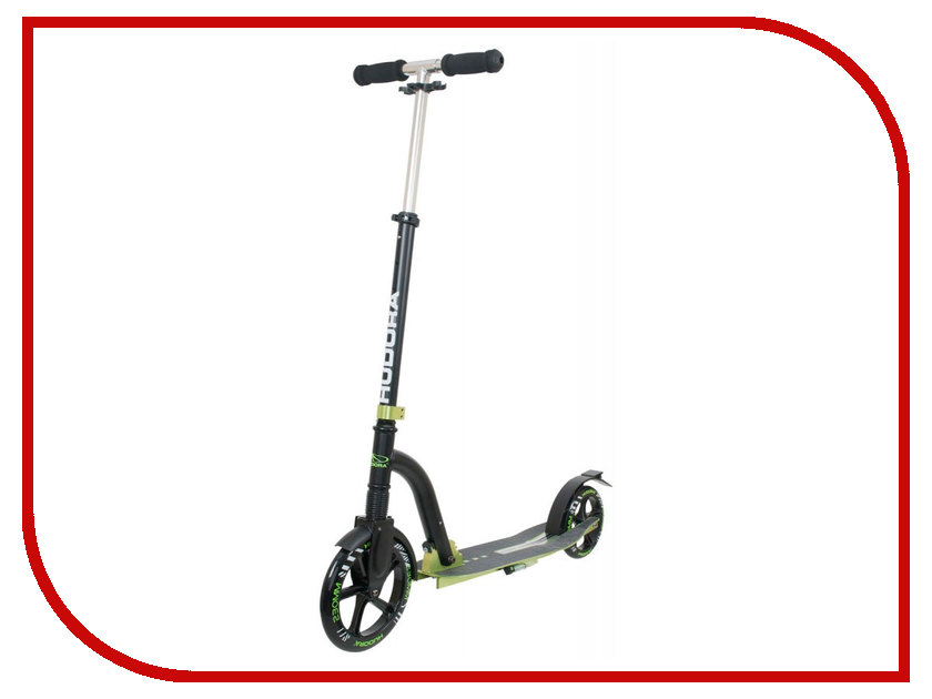 Самокат Hudora Big Wheel Bold Cushion Black-Green