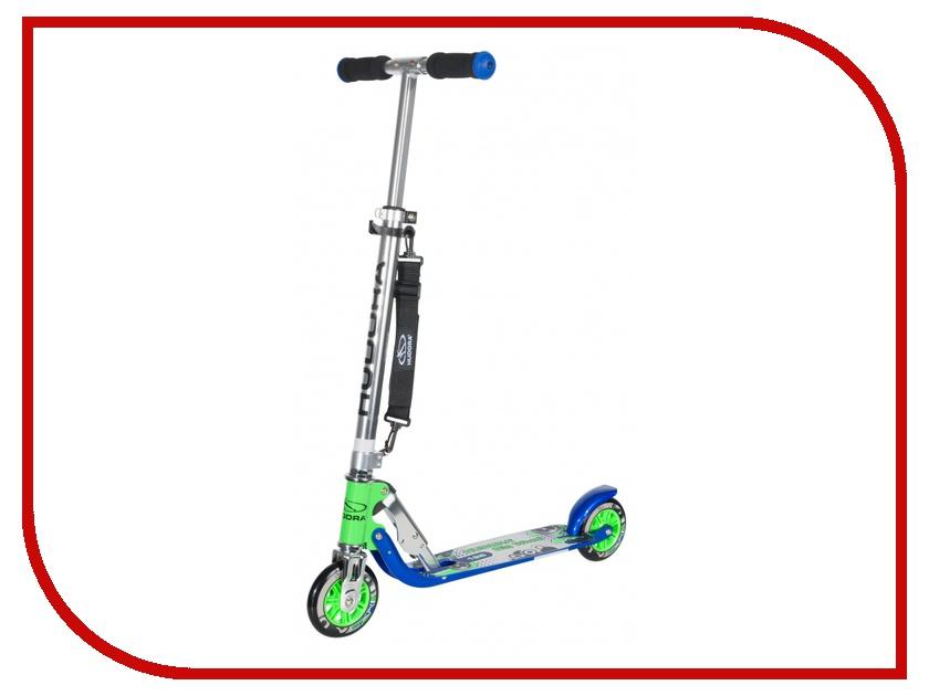 Самокат Hudora Big Wheel 125 New Blue-Green