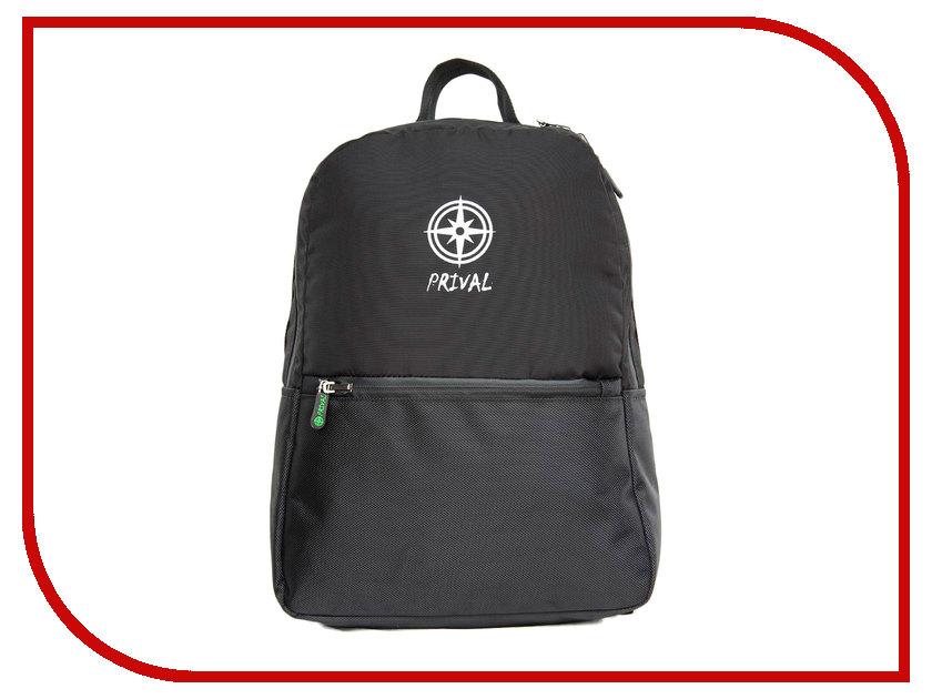 Рюкзак PRIVAL Stark Black рюкзак prival кузьмич 55 black