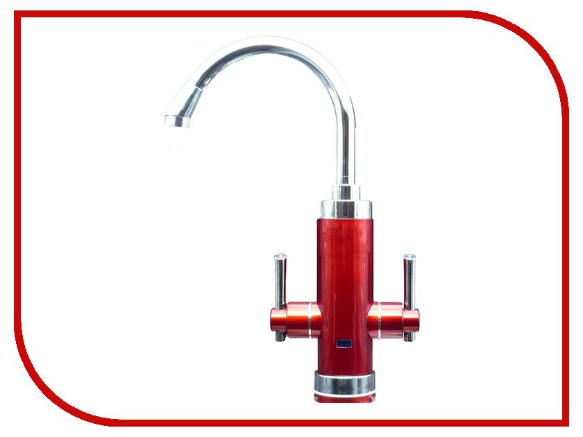 Кран мгновенного нагрева воды Акватерм КА-34R Red