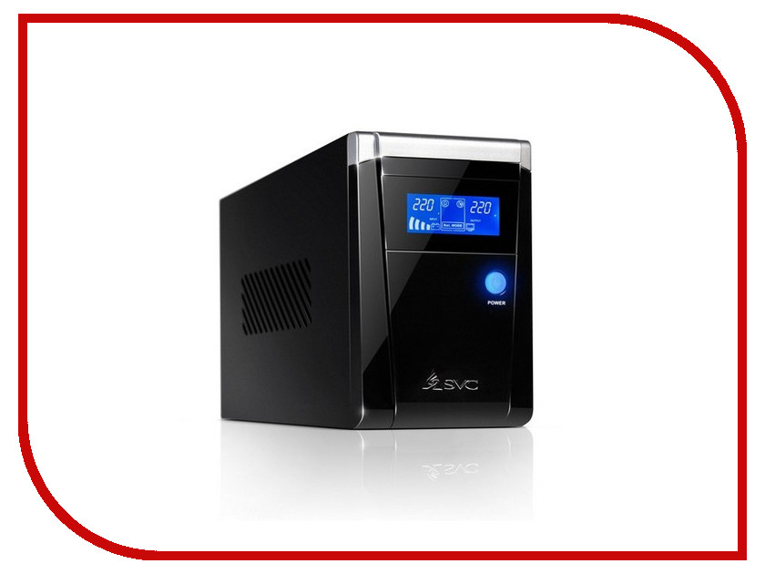 Источник бесперебойного питания SVC V-1200-F-LCD 1200BA/720W