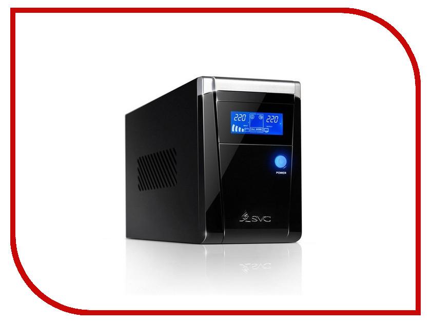 Источник бесперебойного питания SVC V-800-F-LCD 800BA/480W источник бесперебойного питания ippon back power pro lcd 600