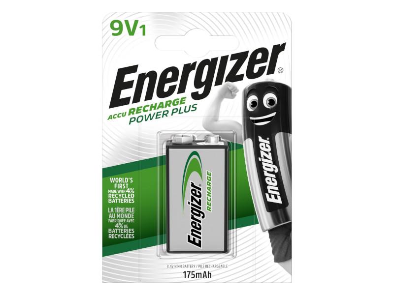 Аккумулятор КРОНА - Energizer Rech Power Plus NH22 175 mAh Ni-MH (1 штука)