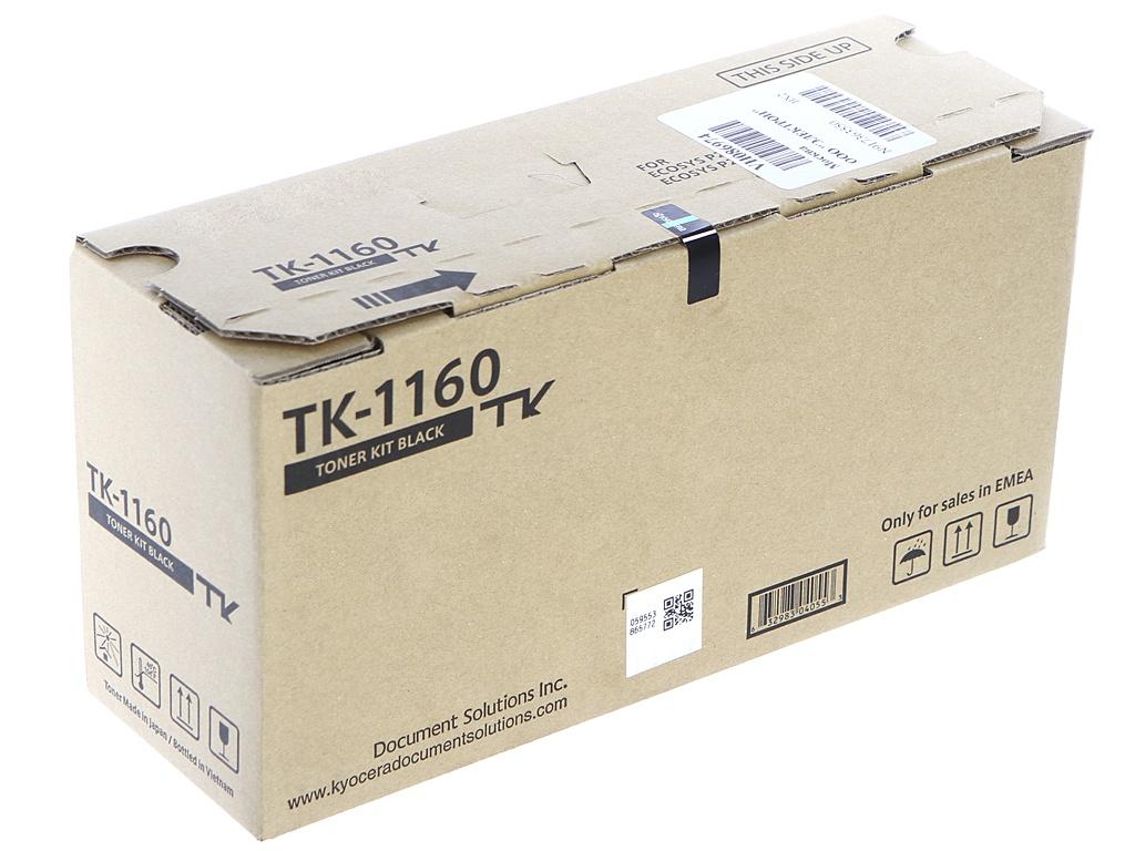 Картридж Kyocera TK-1160 Black для P2040dn/P2040dw