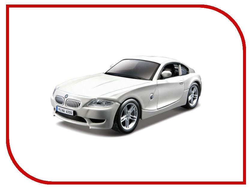 Машина Bburago BMW Z4 M Coupe 18-43007 bburago bmw z4 m coupe