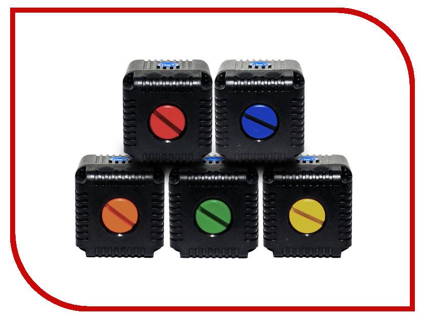 Крышка контактов Lume Cube Color Cap Kit 5шт