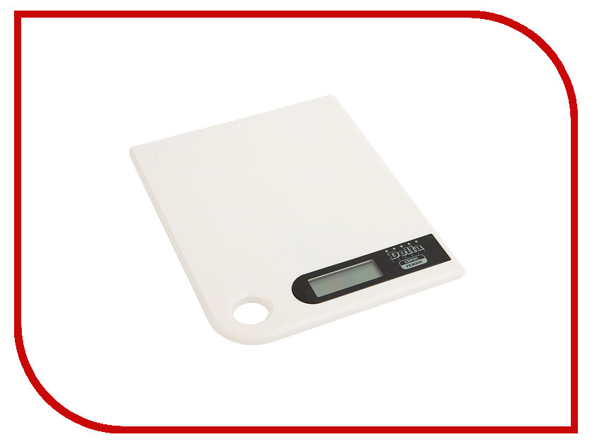 Весы Delta КСЕ-16-21 White весы delta kce 33 silver