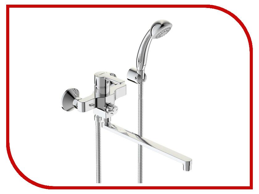 Смеситель Vidima Uno BA320AA смеситель для ванны vidima уно с прямоугольным поворотным изливом с душевым гарнитуром ba320aa