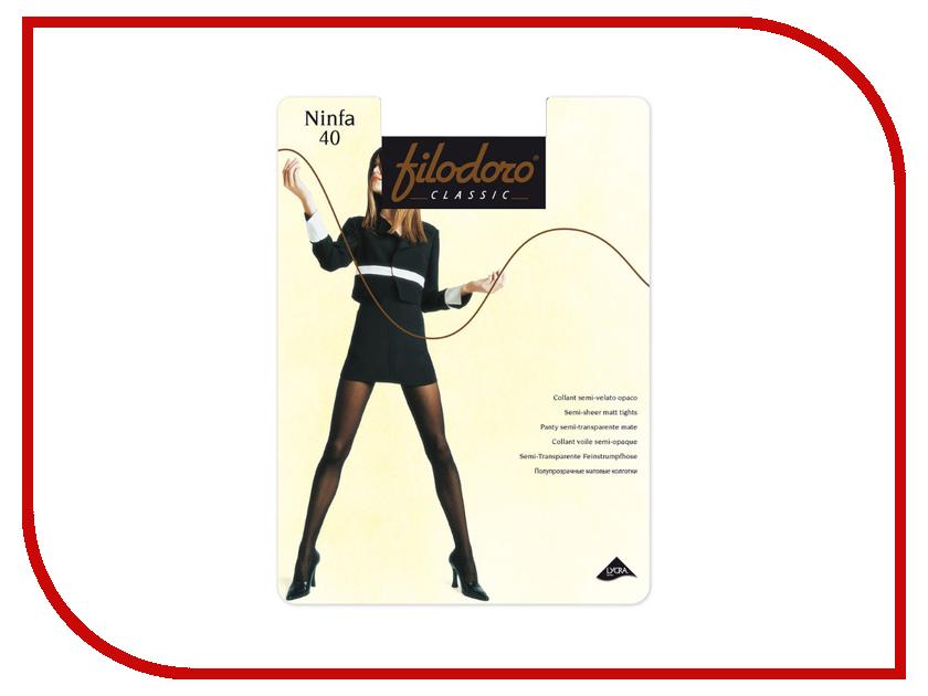 Колготки Filodoro Ninfa размер 3 плотность 40 Den Cognac колготки filodoro vesta размер 3 плотность 40 den playa