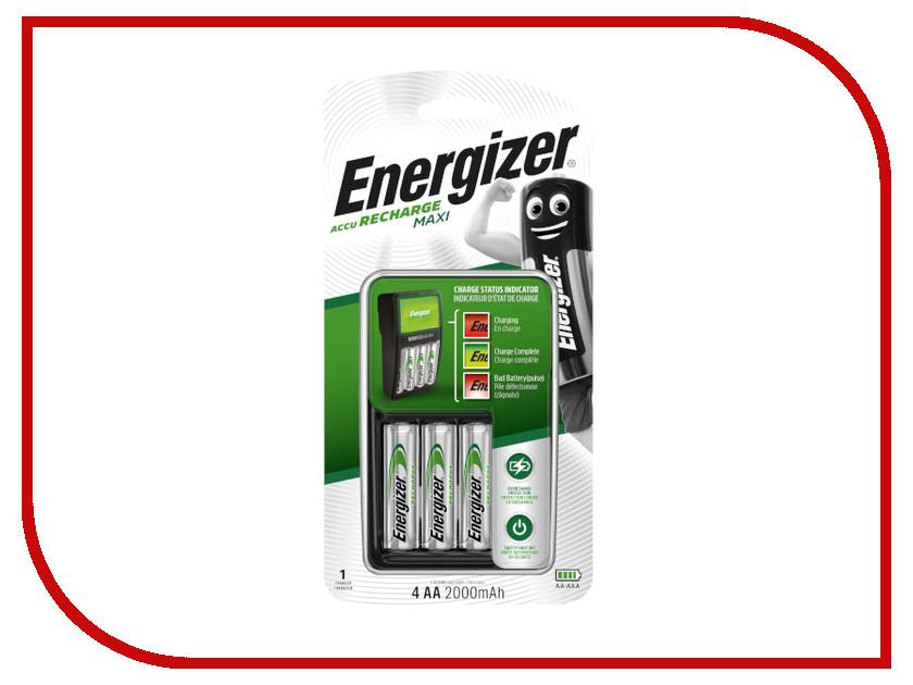 Зарядное устройство Energizer Maxi Charger EU + 4 ак. AA 2000 mAh 638582