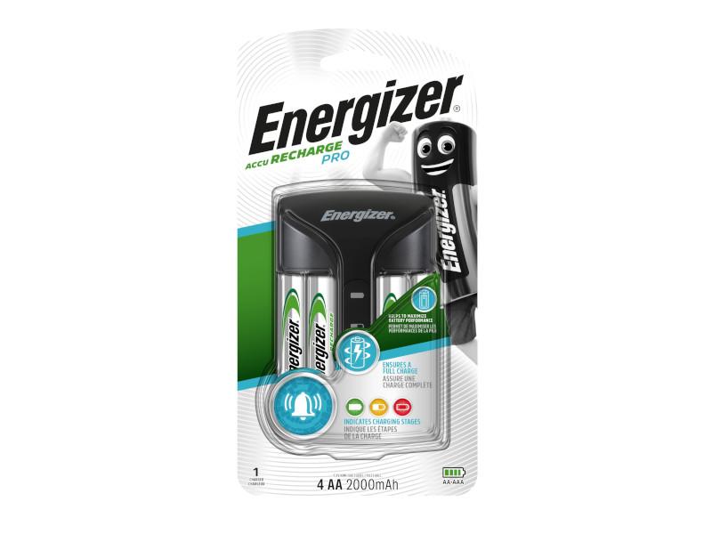 Зарядное устройство Energizer Pro Charger + 4 AA 2000 mAh E300696601 / 21198